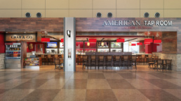 Raleigh-Durham Airport America Tap Room Entrance