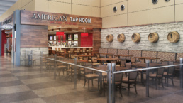 Raleigh-Durham Airport America Tap Room Seating