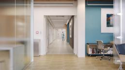 Johns Hopkins Hospital Hallway Rendering