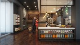 Starbucks Rendering