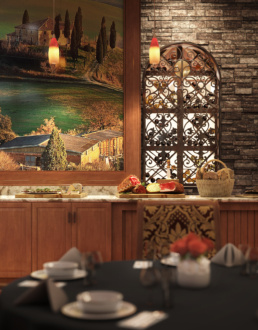 Tuscan Isle - Volterra ChampionsGate Dining Area Rendering