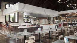 FSU SUWANNEE DINING HALL OSCEOLA COOKHOUSE RENDERING