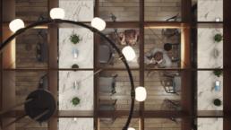 FSU SUWANNEE DINING HALL CHANDELIER RENDERING