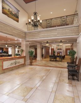 Tuscan Isle - Volterra ChampionsGate Lobby Area Rendering
