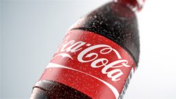 Coke Bottle Demo 3D Condensation
