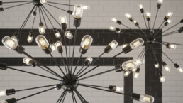 GEORGETOWN UNIVERSITY UPPER FLOOR CHANDELIER RENDERING